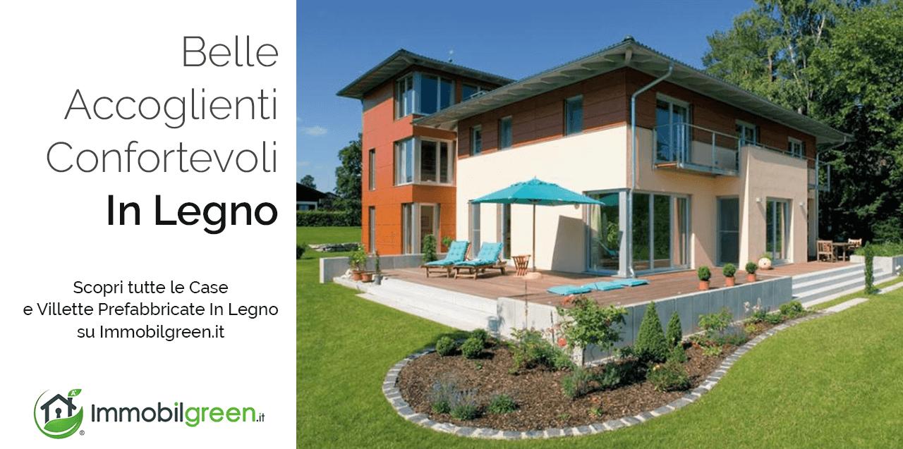 Modelli e prezzi di case in legno e villette prefabbricate for Villette prefabbricate in muratura prezzi