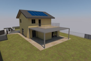 Progetti e realizzazioni di case prefabbricati in legno - Progetto casa giussano ...