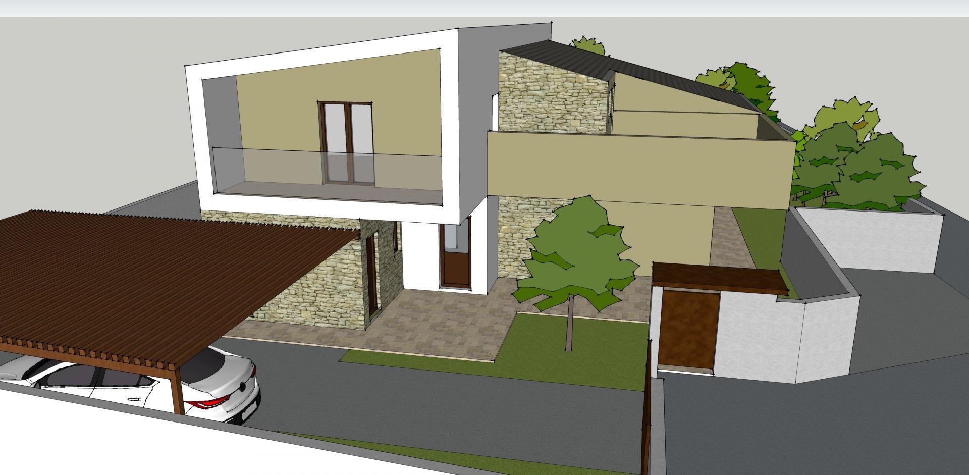 Villa Bifamiliare Davide Ronchi Architetto