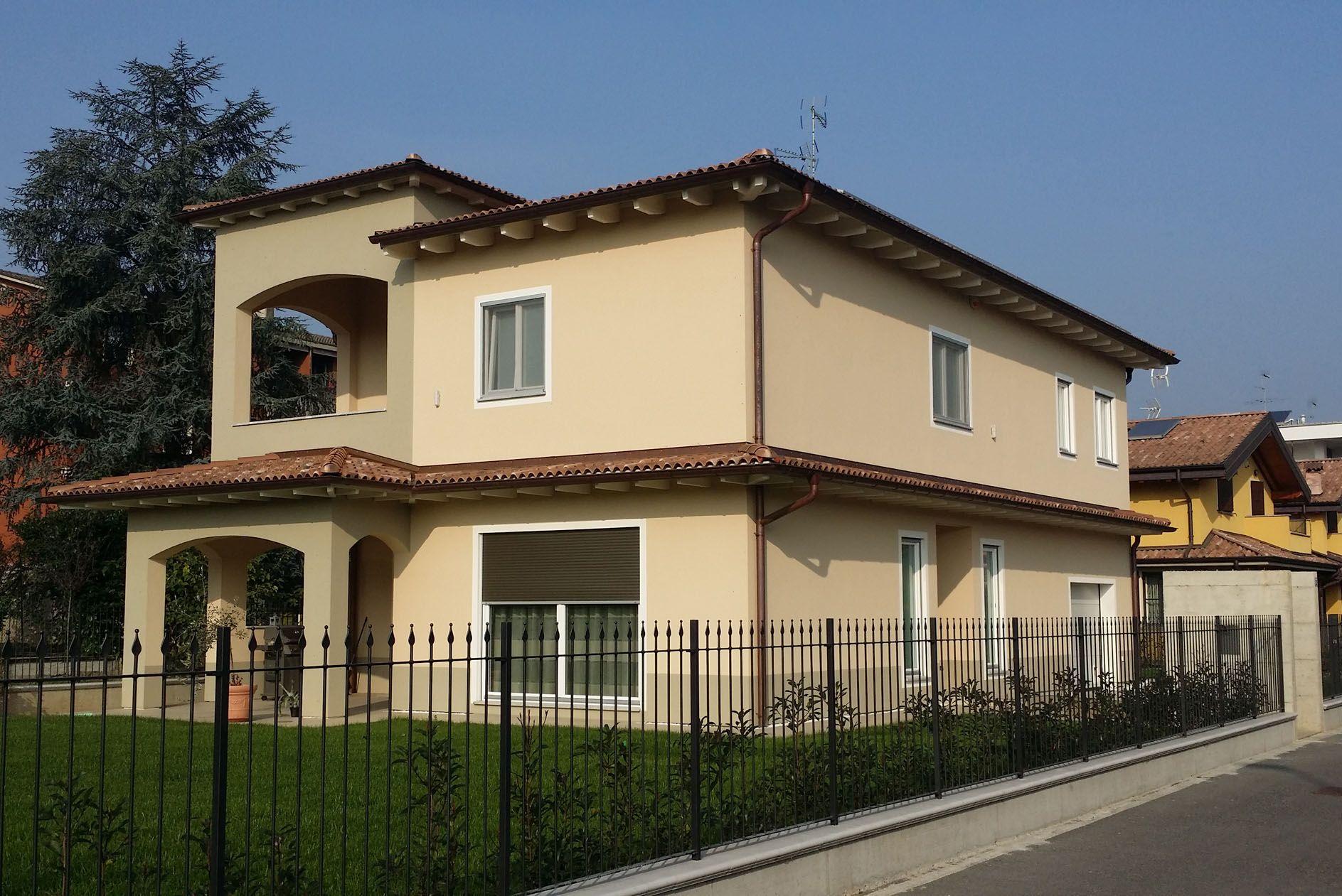Villa A Tre Piani villa a due piani   architetto paolo crivellaro