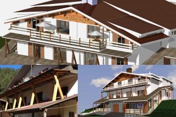 Casa Indipendente in Legno