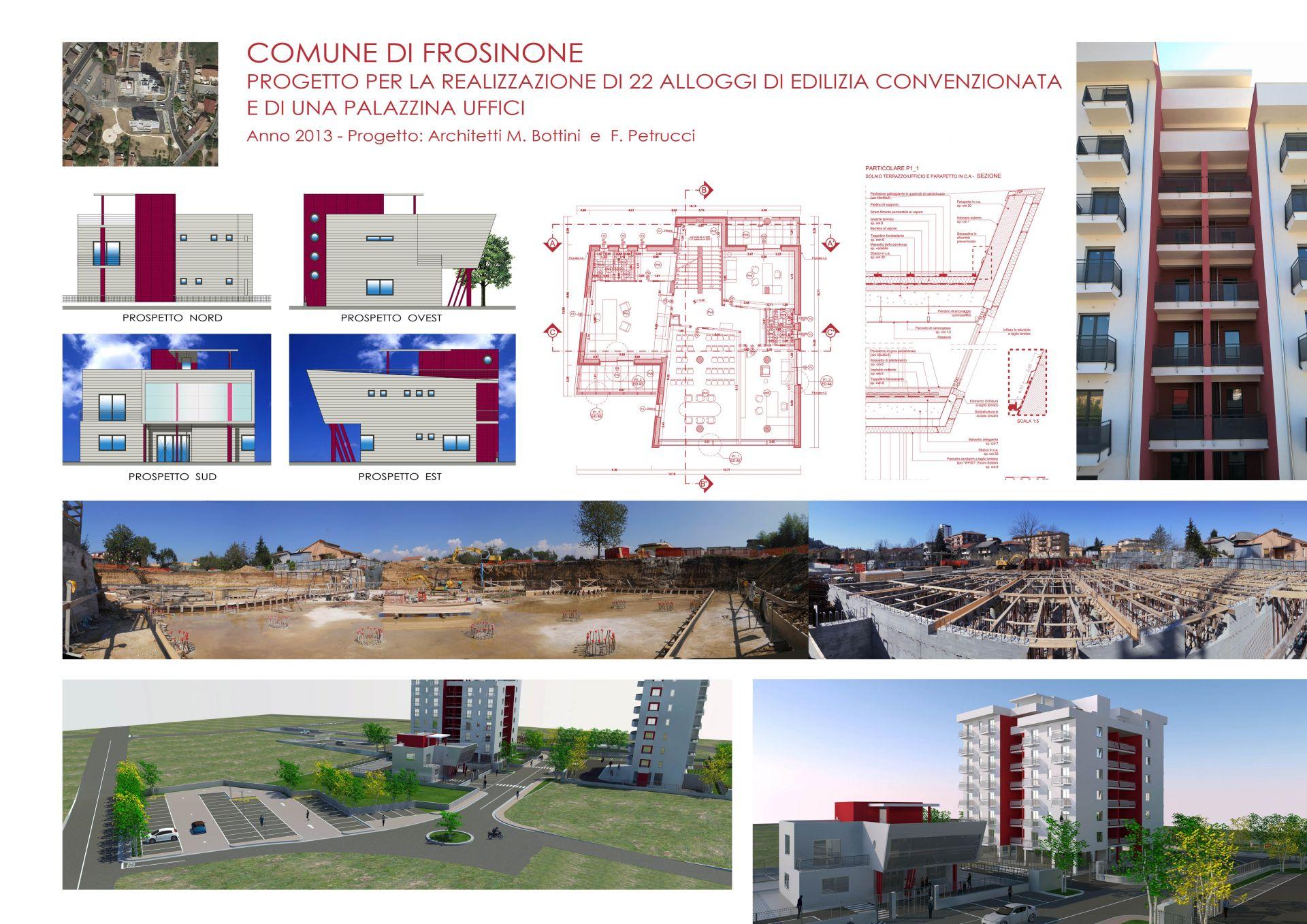 Progetto per la realizzazione di 22 alloggi e una ...