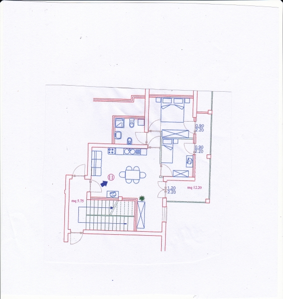 Appartamento Valledoria VL VALLECENTRO