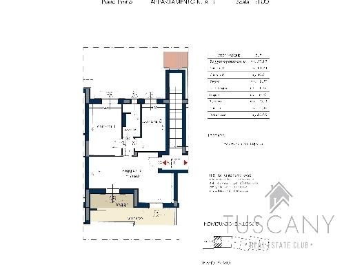 Appartamento TAVARNELLE VAL DI PESA 1/0105