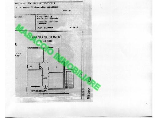 Appartamento CAMPIGLIA MARITTIMA 1/0023