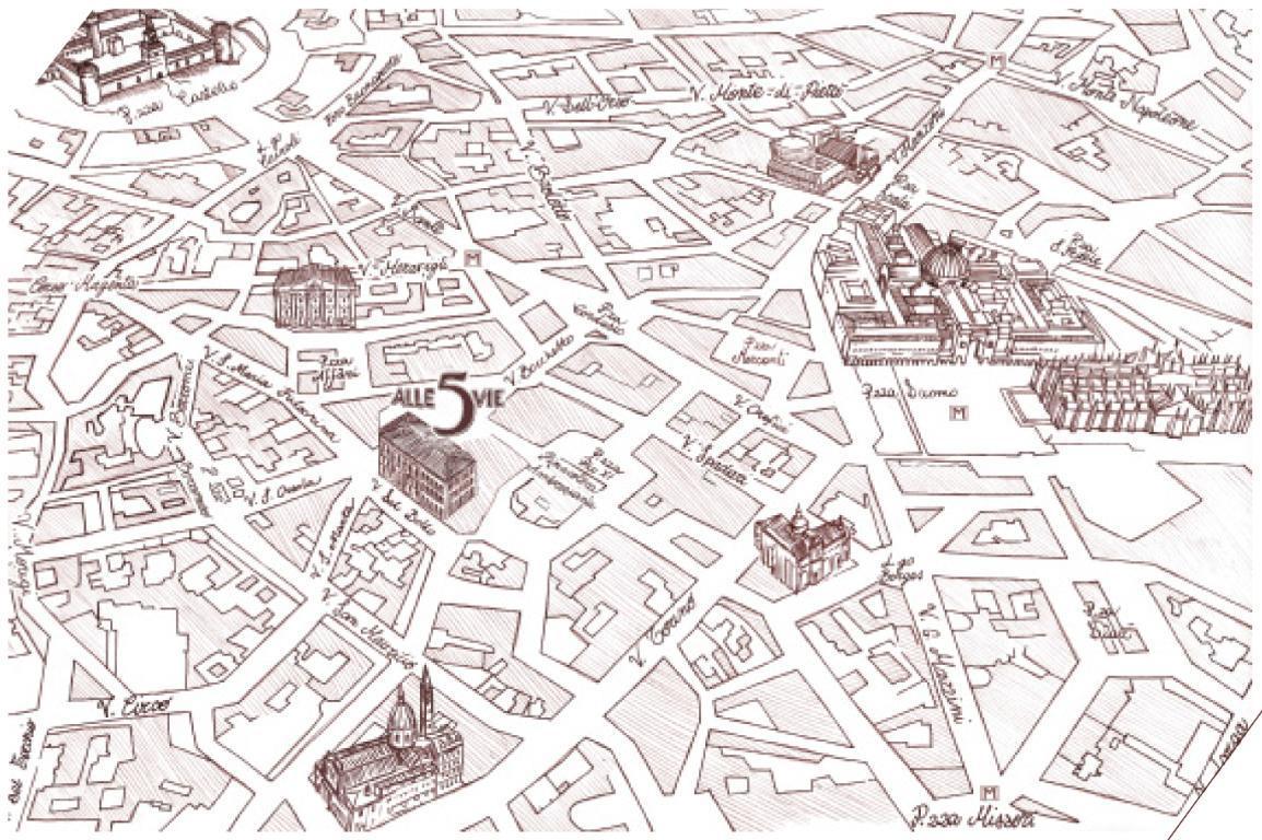 Appartamento Milano 1544