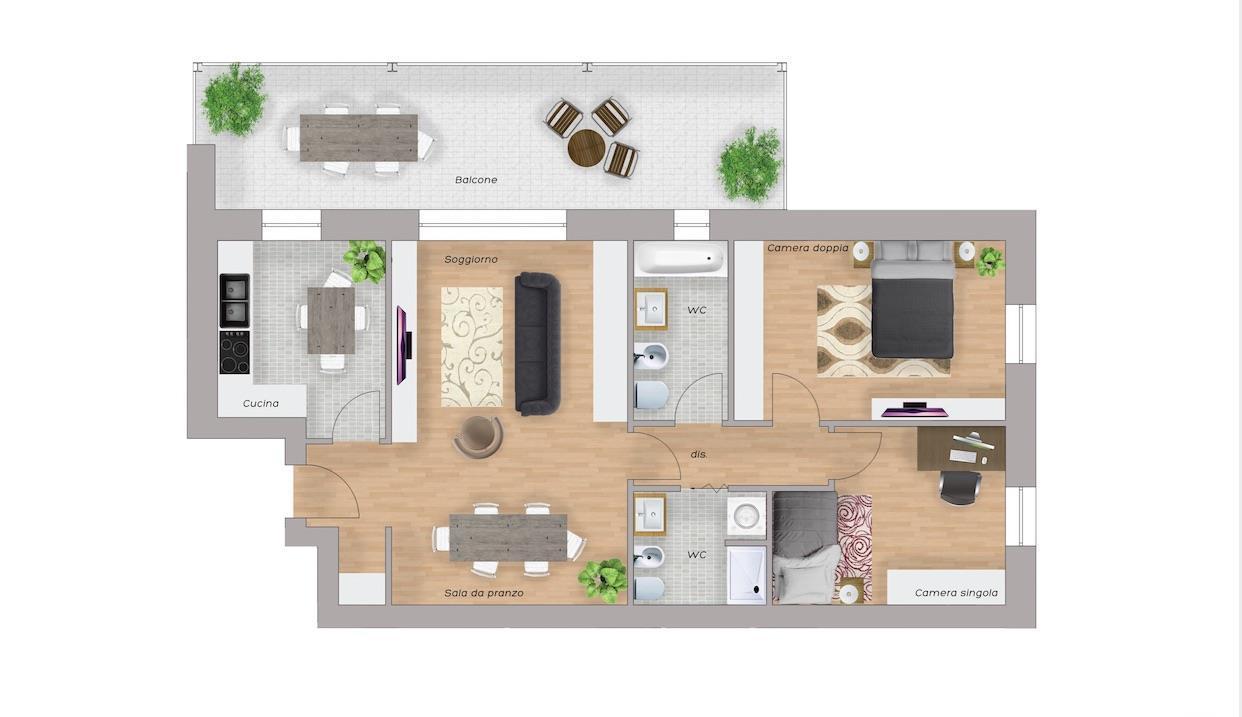 Appartamento Biassono 62740