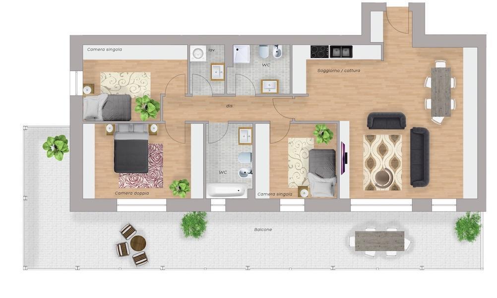 Appartamento Biassono 62819