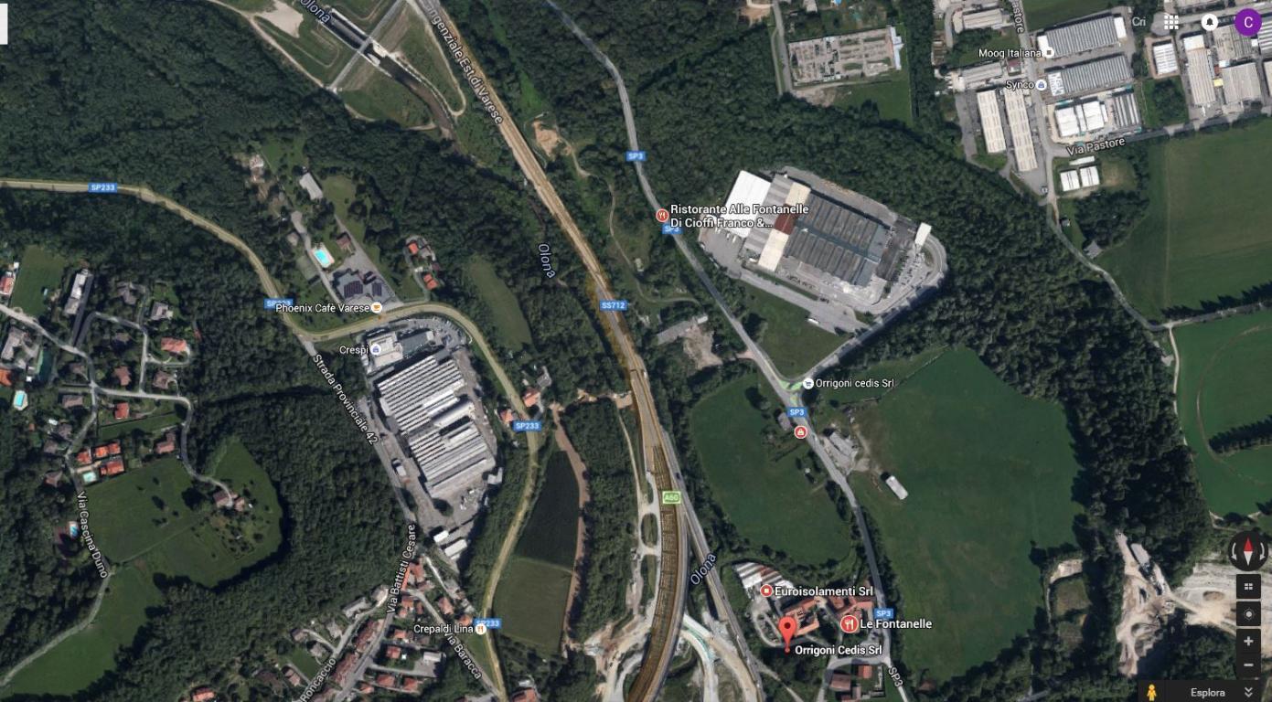 Capannone Industriale Varese DV 343