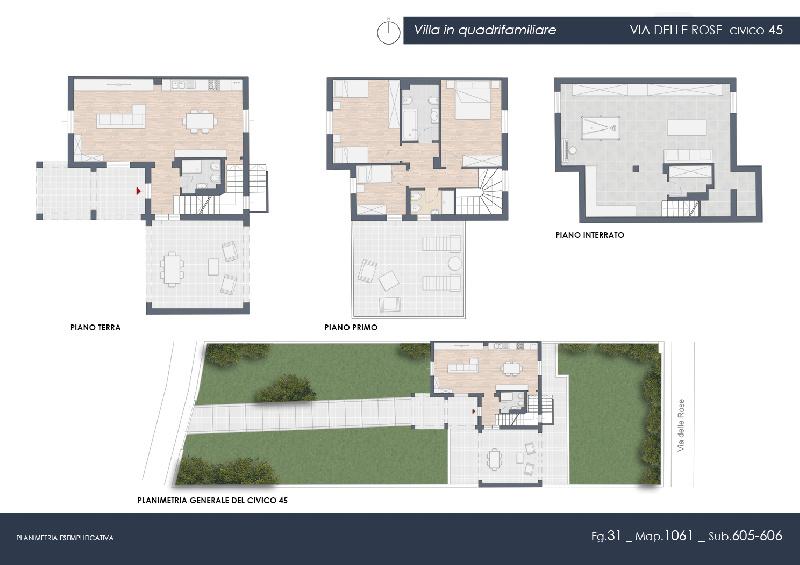 Villa o villino Rosignano Marittimo 317LP