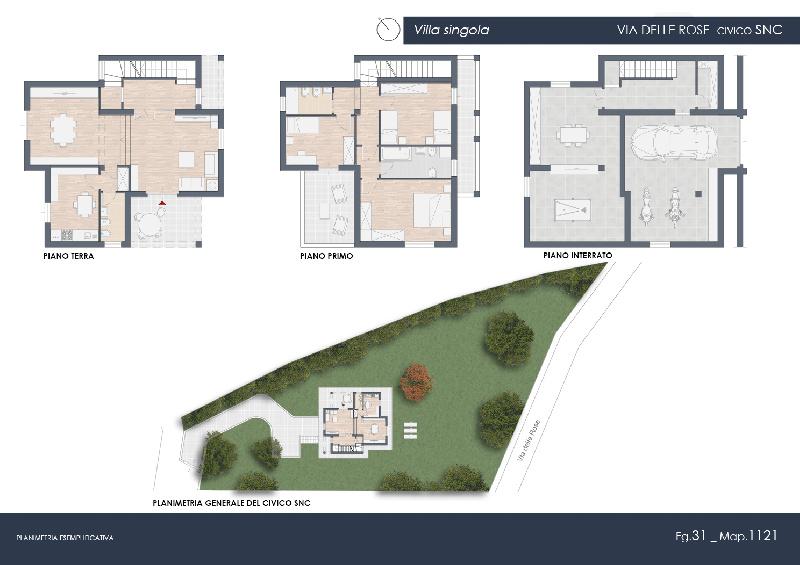 Villa singola Rosignano Marittimo 321LP