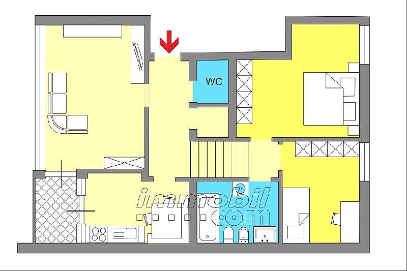 Appartamento Brunico 1136