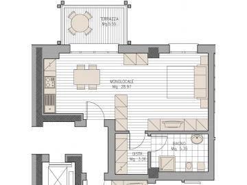 Appartamento Pordenone Sp1259885