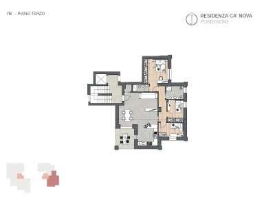 Appartamento Pordenone BBCap7B