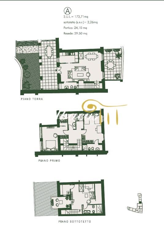 Terratetto FIRENZE ABA/931