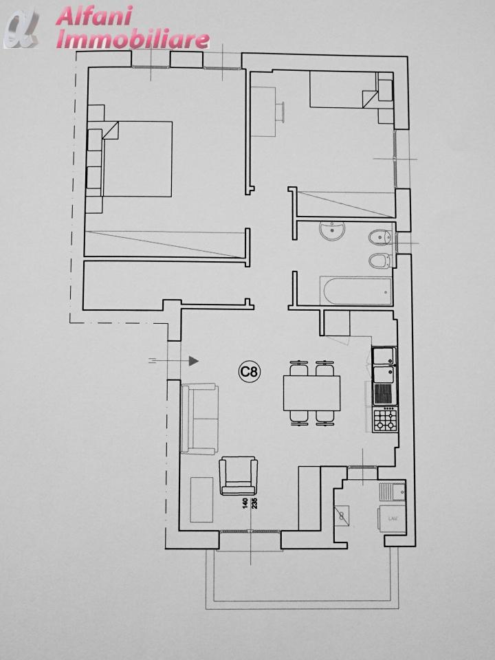 Appartamento BIBBIENA 406C