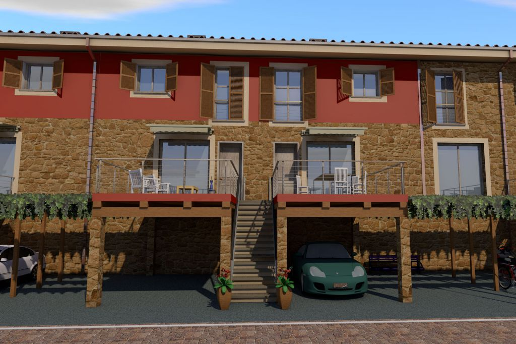 Villa a schiera GAVORRANO TI-345