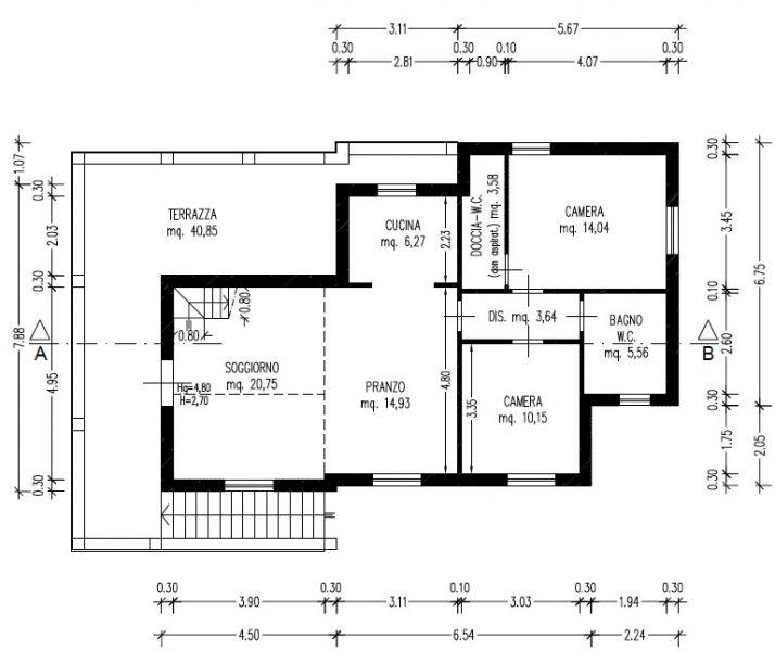 Villa singola LIVORNO R0395