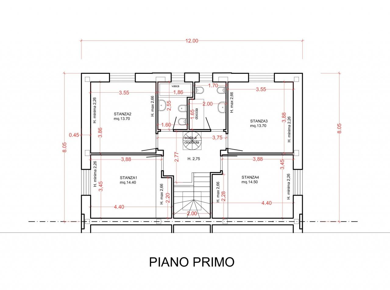 Villa bifamiliare PIETRASANTA 138