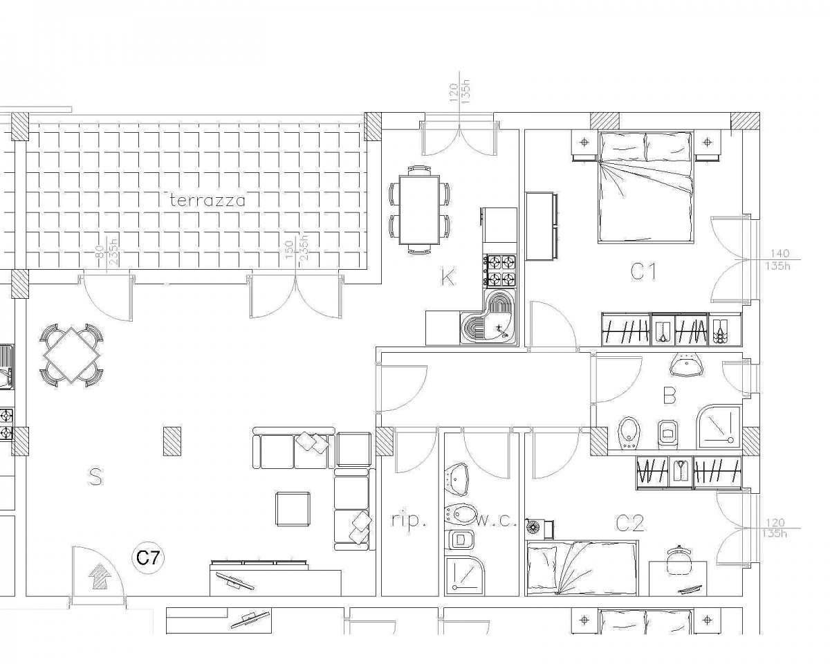 Appartamento GROSSETO CI.V.M.R.C7