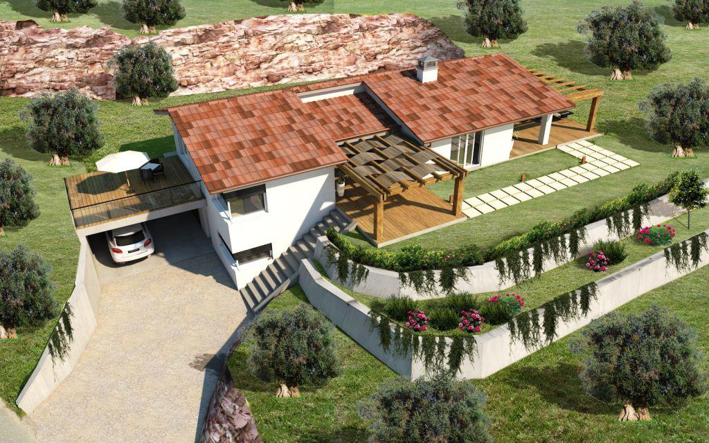 Villa singola GROSSETO CA.SE.V.U.