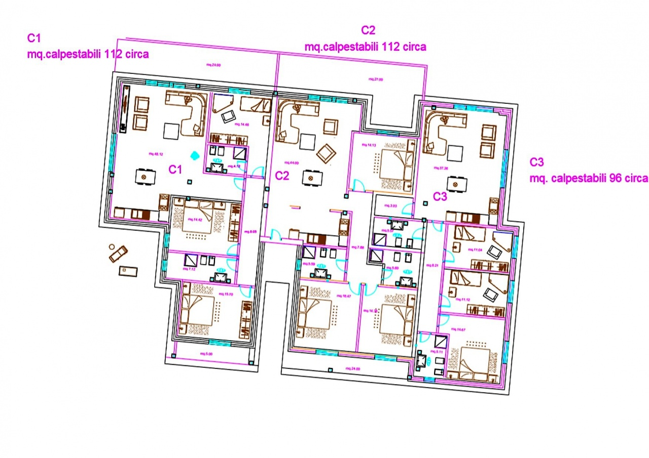 Appartamento GROSSETO CA.SE.C123BIS