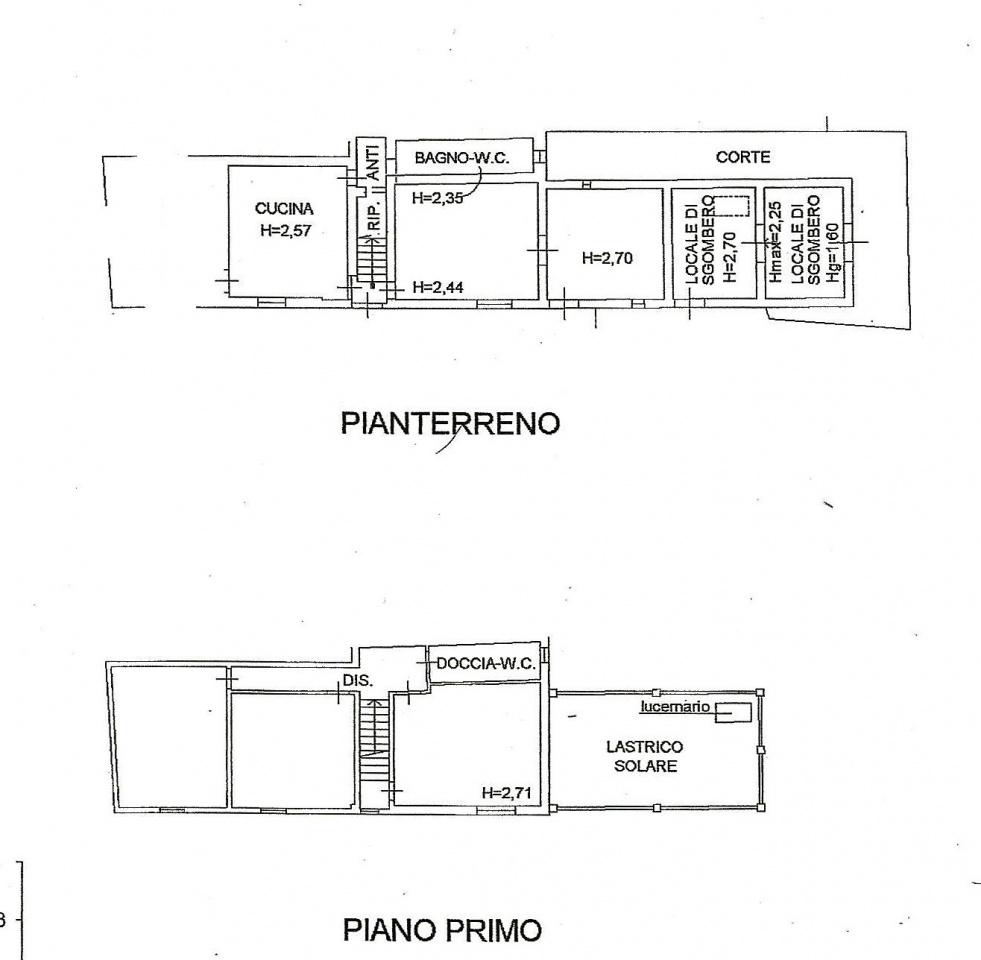 Casa Semindipendente in Vendita SAN MINIATO