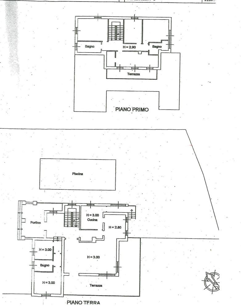 Villa singola CASTELNUOVO BERARDENGA V806