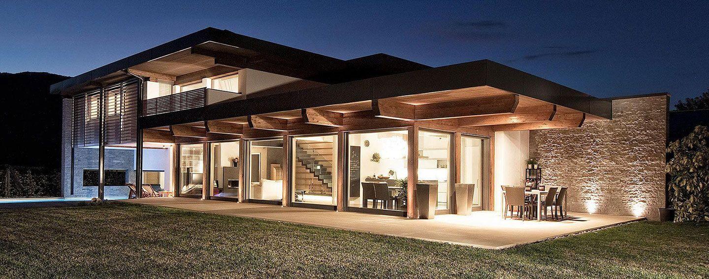 Migliori costruttori di case prefabbricate in legno in for Villette prefabbricate in muratura prezzi