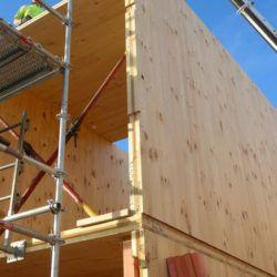 Sistema Costruttivo X-Lam per case in legno prefabbricate