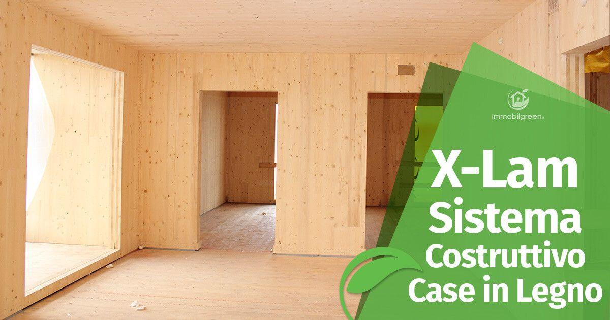 Sistema costruttivo x lam per case in legno economico e for Case legno xlam