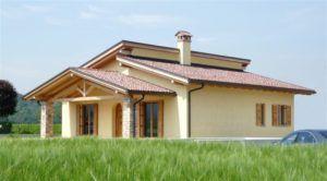 Casa in Legno Gavardo Raro Haus