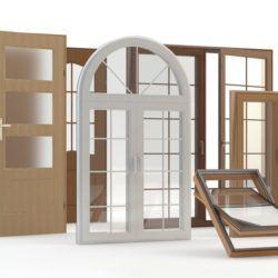 Porte e Infissi di una Casa in Legno