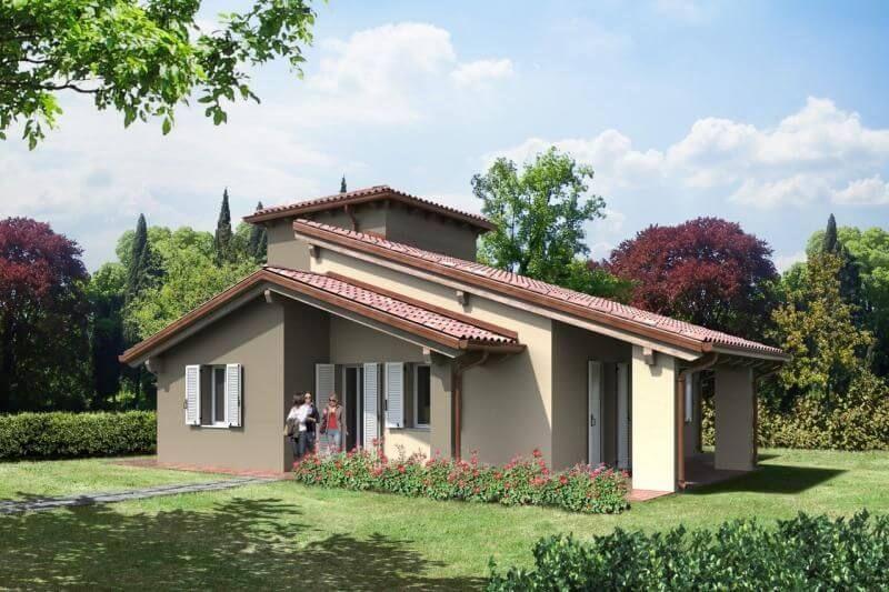 Casa in Legno modello Torre