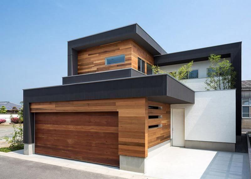 Villa prefabbricata di legno
