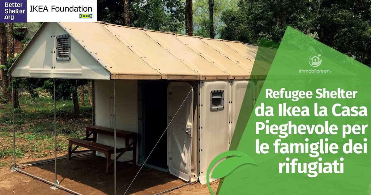 Refugee shelter da ikea la casa pieghevole per le - Casa prefabbricata ikea ...
