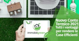 Conto Termico 2021: Tutti i vantaggi per rendere le Case Efficienti