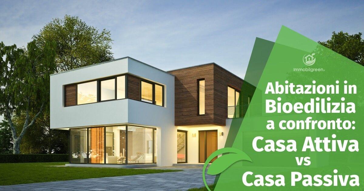 Elementi comuni e differenze tra casa attiva e passiva for Casa bioedilizia o tradizionale