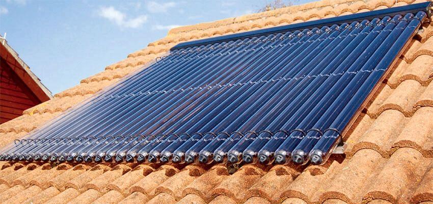 Aria Nel Pannello Solare : Impianto solare termico come produrre acqua calda grazie