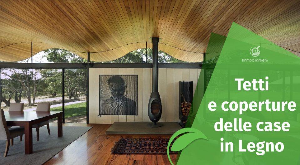 Tetti e coperture delle Case in Legno