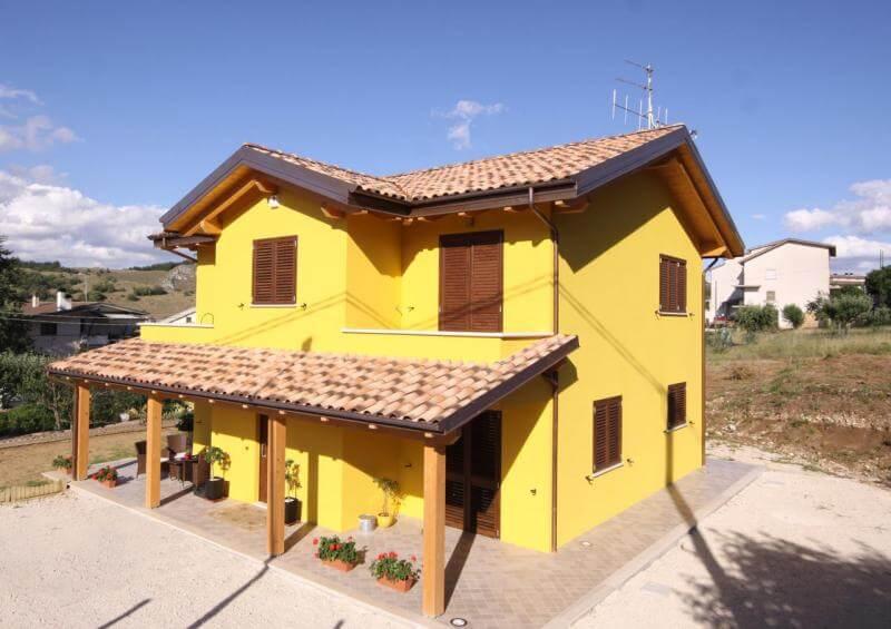 Casa in legno prefabbricata grezzo avanzato for Mutuo casa prefabbricata