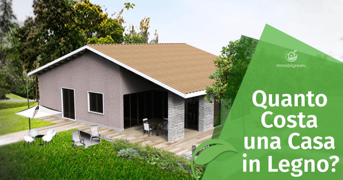quanto costa casa in legno: i prezzi delle case in legno