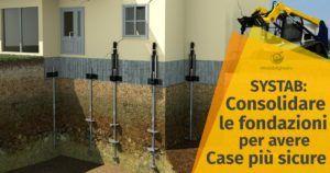 Systab: tecnologie all'avanguardia per il consolidamento delle fondazioni e la sicurezza della casa