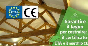 La certificazione ETA e le prestazioni del legno da costruzione