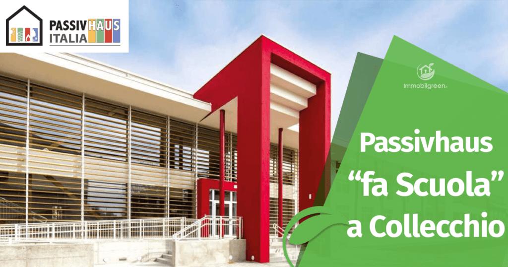 Costruzione Edificio Scolastico a Collecchio con lo Standard Passivhaus