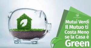 Mutui Verdi: Il Mutuo ti Costa Meno se la Casa è Green