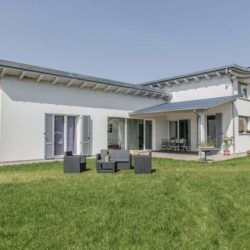 Casa in Legno Moderna modello Perguia 1