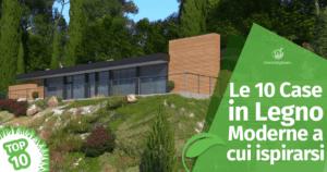 Le 10 Case in Legno Moderne a cui ispirarsi