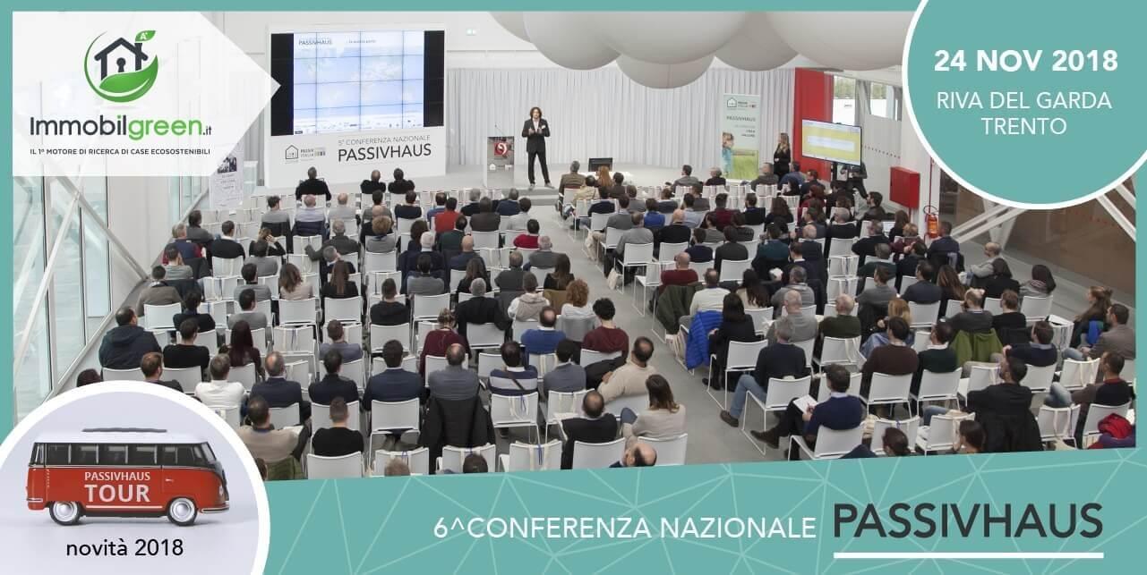 6 conferenza Nazionale Passivhaus 2018