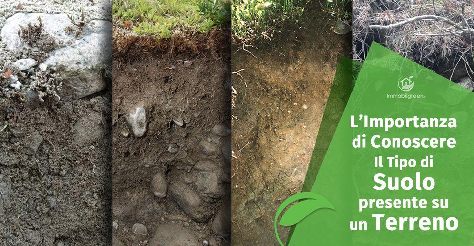 Importanza del tipo di suolo di un terreno